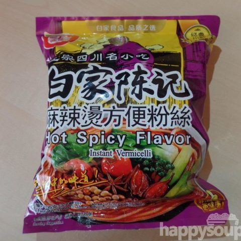 "#1161: Sichuan Baijia ""Hot Spicy Flavor"" Instant Vermicelli"