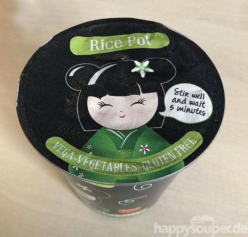 "#1162: Foodcase ""Rice Pot Vega-Vegetables"""