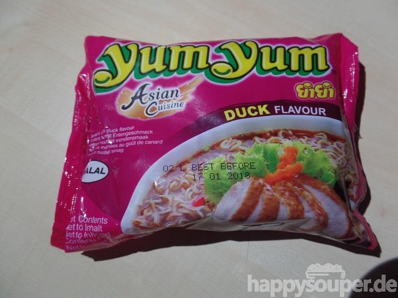 "#035: YumYum Instant Noodles ""Duck Flavour"""