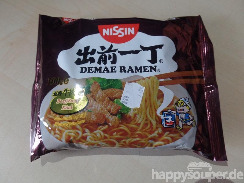 """#014: Nissin Demae Ramen """"Beef Flavour"""""""