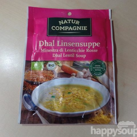 "#1181: Natur Compagnie ""Dhal Linsensuppe"""