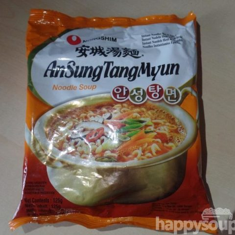 """#1191: Nongshim """"AnSungTangMyun"""" (Instant Noodles Hot & Spicy) (Update 2021)"""