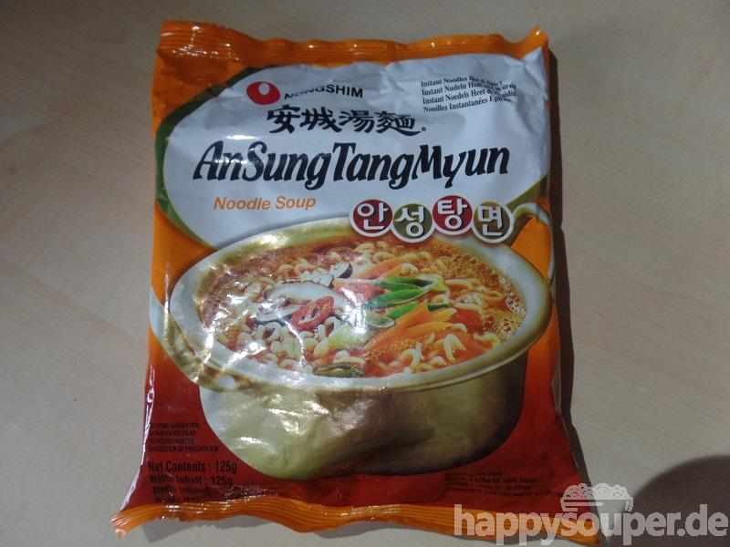 """#1191: Nongshim """"AnSungTangMyun"""" (Instant Noodles Hot & Spicy)"""