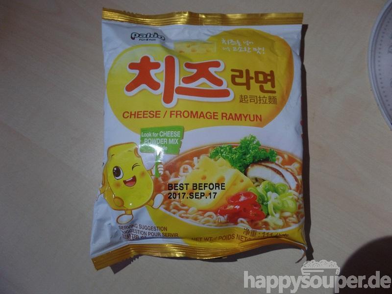 "#1178: Paldo ""Cheese / Fromage Ramyun"""