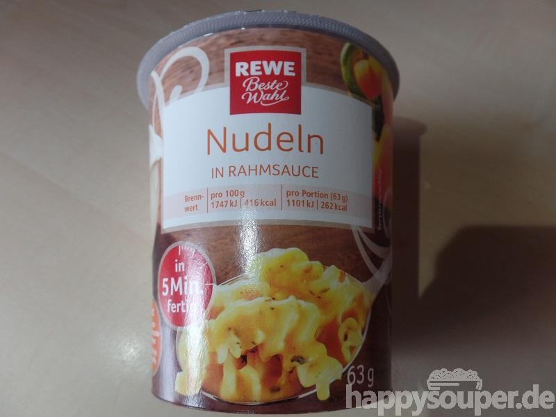 """#1180: REWE Beste Wahl """"Nudeln in Rahmsauce"""""""