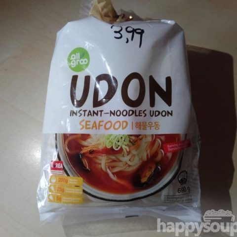 "#1184: all groo ""Udon Instant-Noodles Seafood"""
