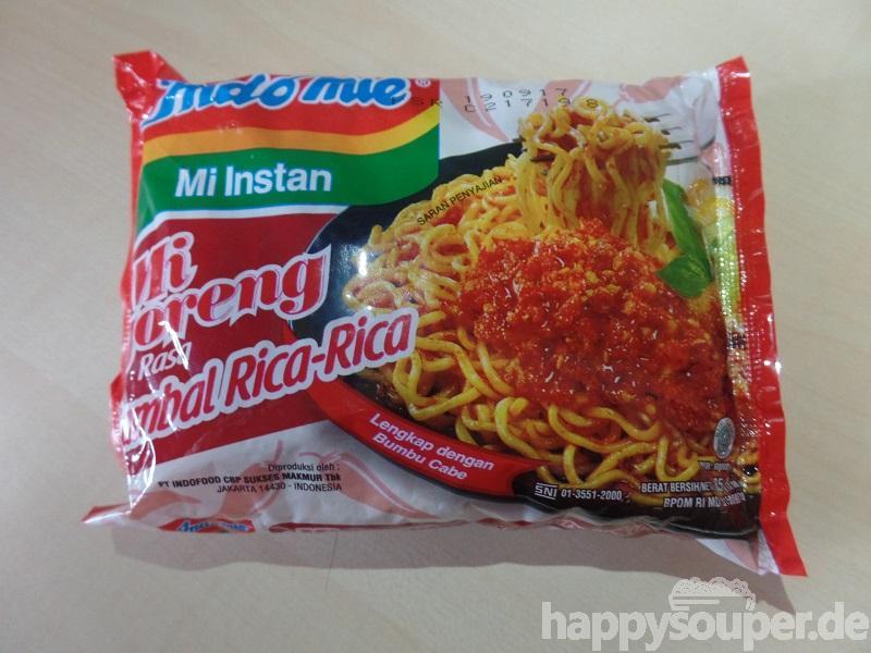 "#1205: Indomie Mi Instan ""Mi Goreng Rasa Sambal Rica-Rica"""