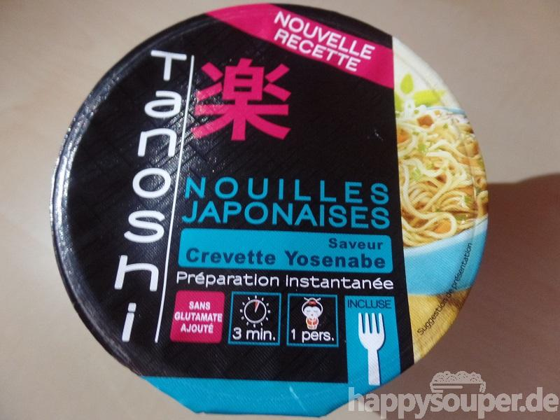 """#1208: Tanoshi Nouilles Japonaises """"Saveur Crevette Yosenabe"""""""