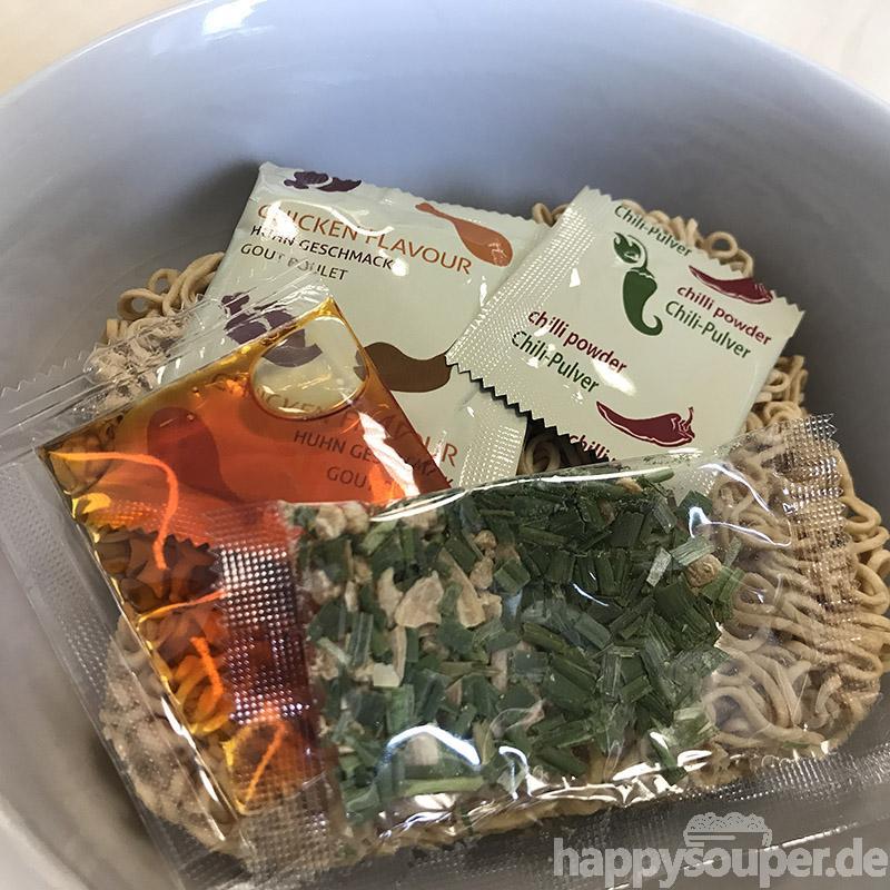 """#1193: Asia Green Garden """"Instant Nudeln mit Hühnergeschmack"""""""