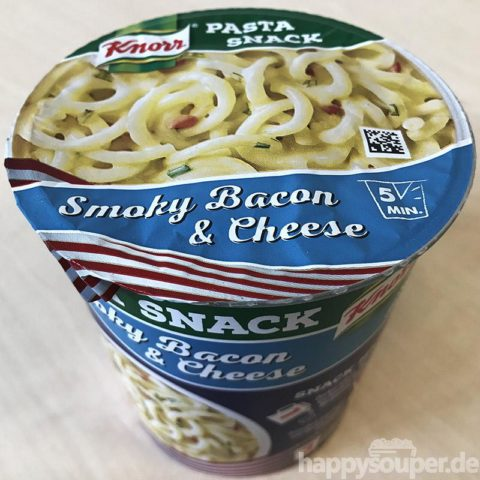 "#1195: Knorr Pasta Snack ""Smoky Bacon & Cheese"""
