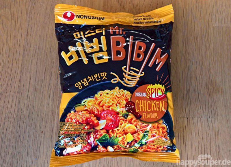 """#1227: Nongshim """"Mr. Bibim - Korean Spicy Chicken Flavour"""""""