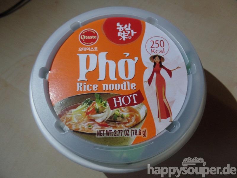 "#1221: Otaste ""Phở Rice Noodle Hot"""