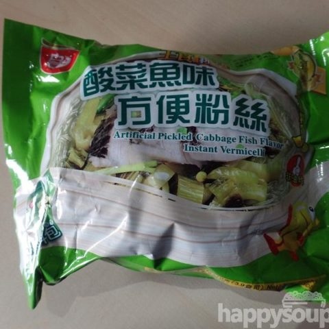 "#1232: Sichuan Baijia ""Artificial Pickled Cabbage Fish Flavor"" Instant Vermicelli"