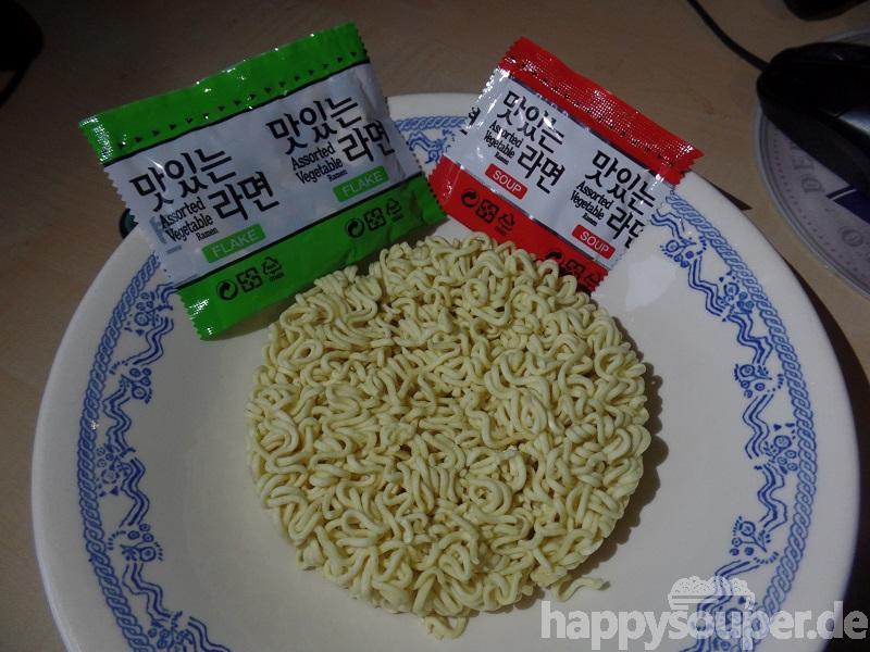 "#734: Samyang ""Savory Vegetable Flavour"" Assorted Vegetable Ramen"