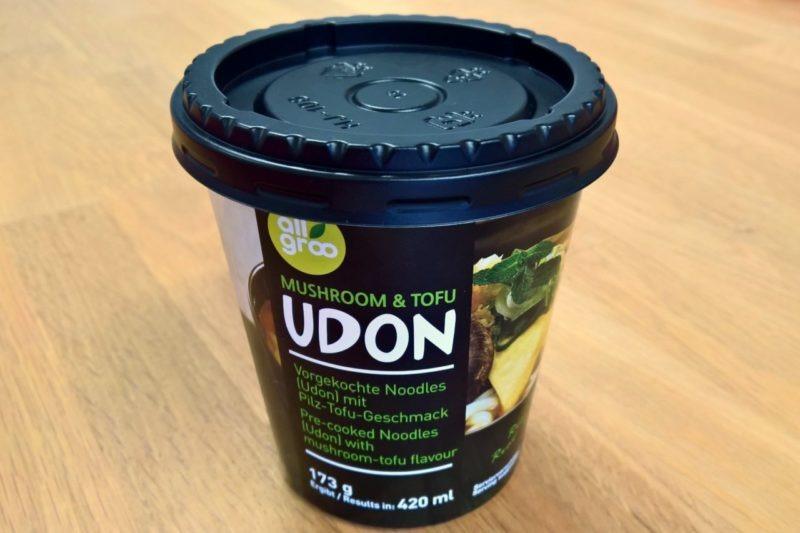 """#1243: All Groo """"Mushroom & Tofu Udon"""""""