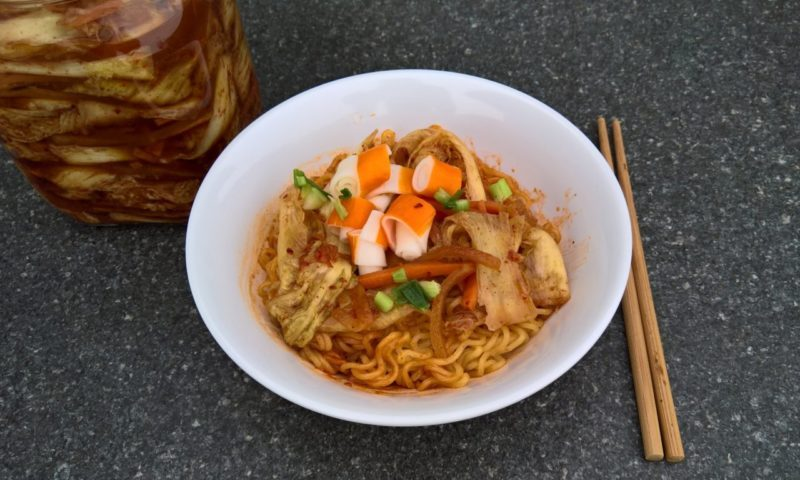 "#1249: Nongshim ""Mr. Bibim - Stir Fried Kimchi Flavour"""