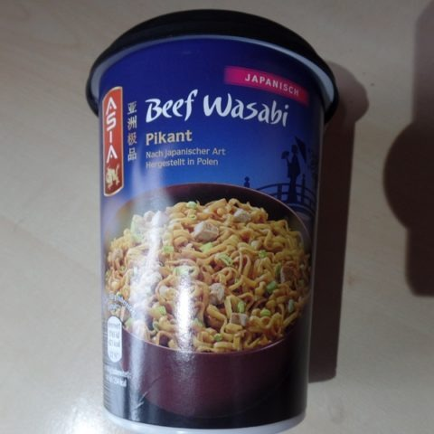 """#1241: Asia """"Beef Wasabi"""" Cup"""