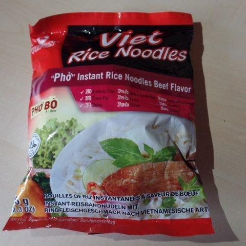 """#1244: Vifon Viet Rice Noodles """"Phở Bò Ăn Liền"""" (Beef Flavor)"""