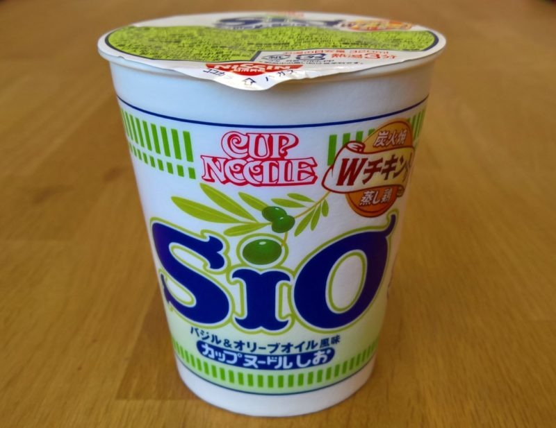 """Momofuku Ando Day-Spezial: #1265: Nissin """"Cup Noodle Sio"""""""