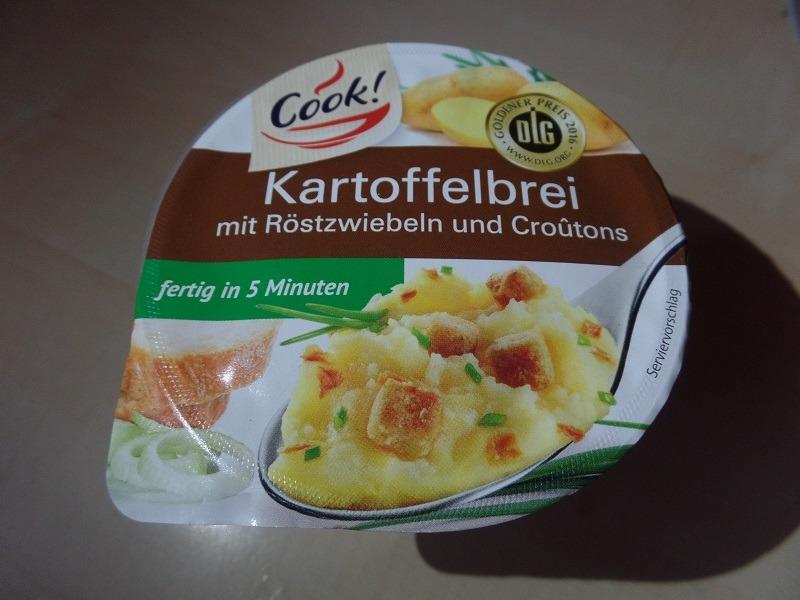 """#1251: Cook! """"Kartoffelbrei mit Röstzwiebeln und Croûtons"""""""