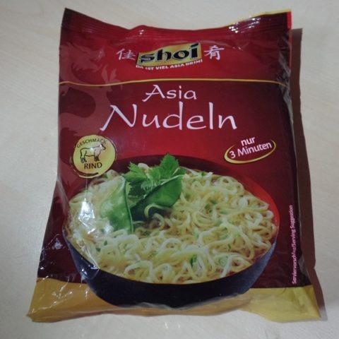 "#1257: shoi ""Asia Nudeln Rind Geschmack"""