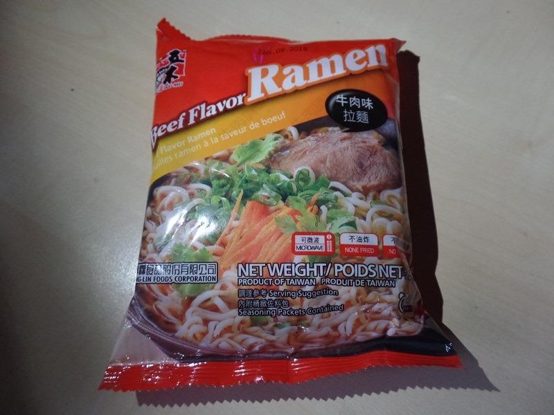 "#1258: Wu-Mu ""Beef Flavor Ramen"""