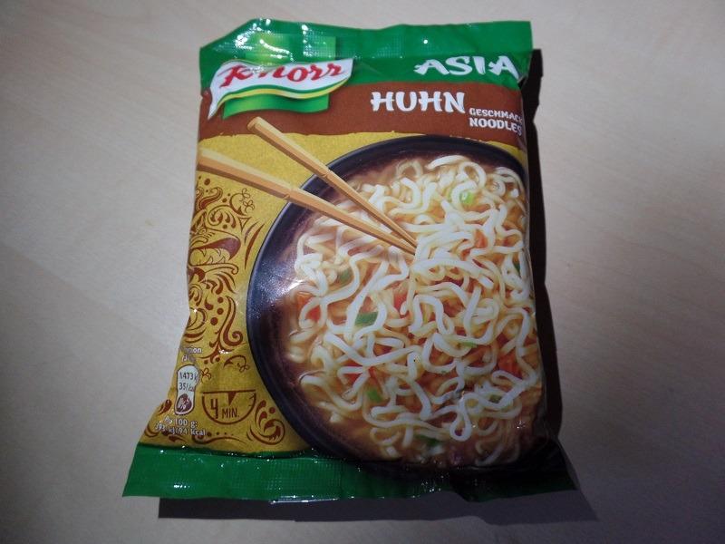 """#1259: Knorr """"Asia Noodles Huhn Geschmack"""""""