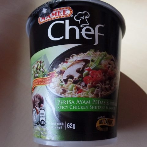 "#1268: Mamee Chef ""Perisa Ayam Pedas Shiitake"" (Spicy Chicken Shiitake Flavour)"