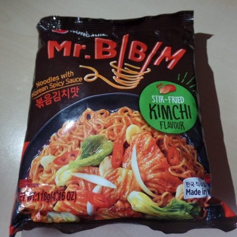 "#1269: Nongshim Mr. Bibim ""Stir-Fried Kimchi Flavour"" (Noodles with Korean Spicy Sauce)"