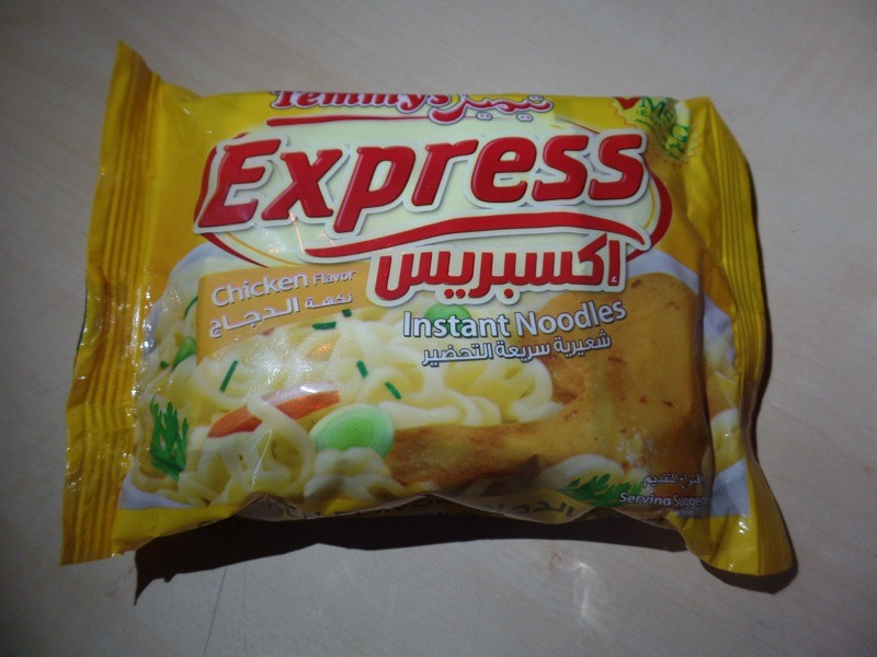 "#1274: Temmy´s Express ""Instant Noodles Chicken Flavor"""