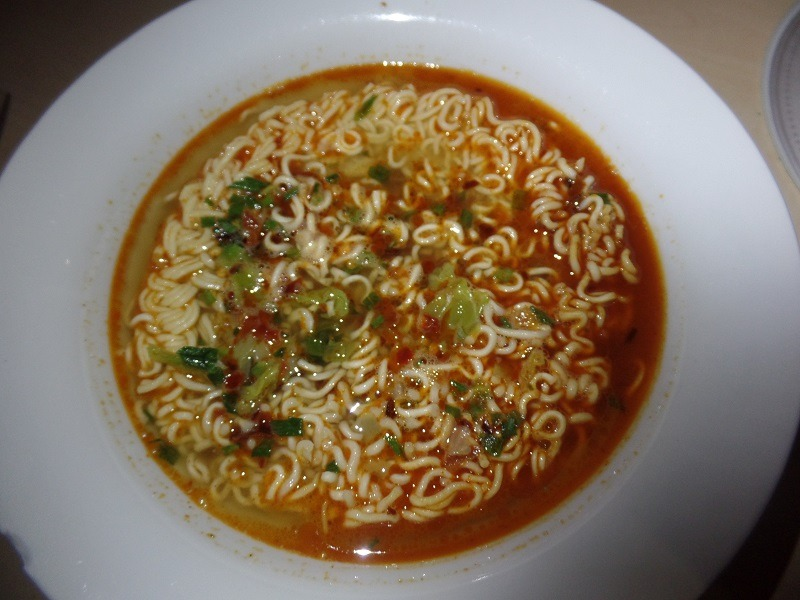 "#1279: Unif 100 ""Instant Noodles Artificial Spicy Beef Flavor"""