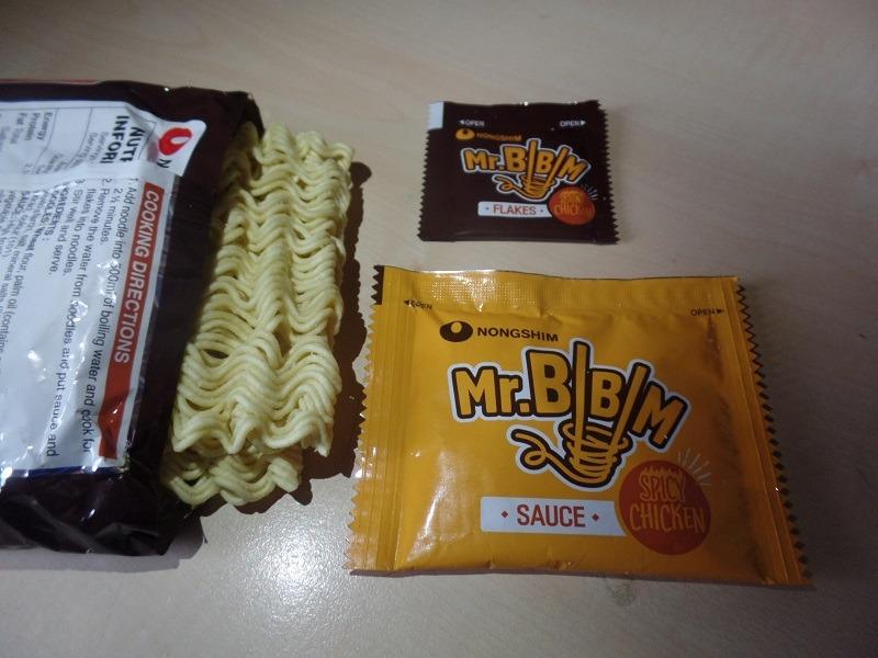 """#1286: Nongshim Mr. Bibim """"Korean Spicy Chicken Flavour"""" (Noodles with Korean Spicy Sauce)"""