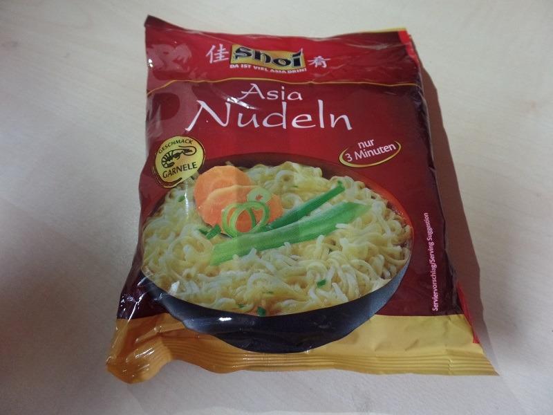 "#1298: shoi Asia Nudeln ""Geschmack Garnele"""