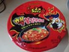 "#1299: Samyang ""Buldak Bokkeummyun"" 2x Spicy (Hot Chicken Flavor Ramen) Bowl"