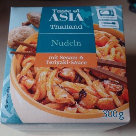 "#1302: Taste of Asia Thailand ""Nudeln mit Sesam & Teriyaki-Sauce"""