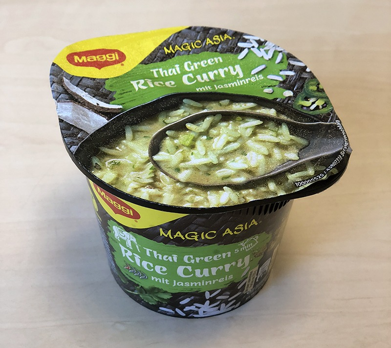 "#1293: Maggi ""Magic Asia Thai Green Rice Curry"""