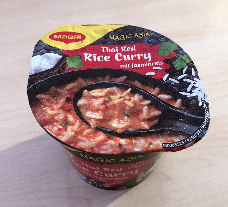 "#1284: Maggi Magic Asia ""Thai Red Rice Curry"""