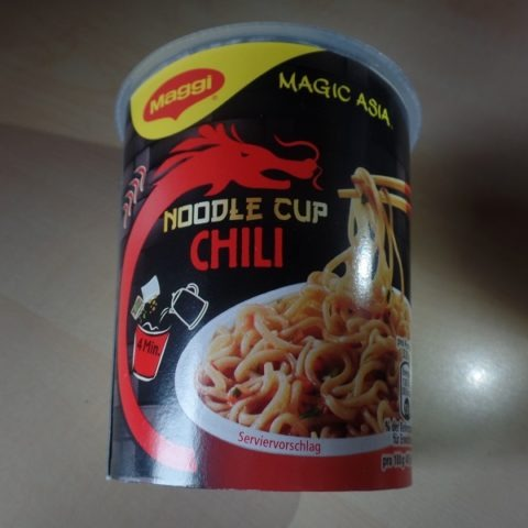 """#1307: Maggi Magic Asia """"Noodle Cup Chili"""""""