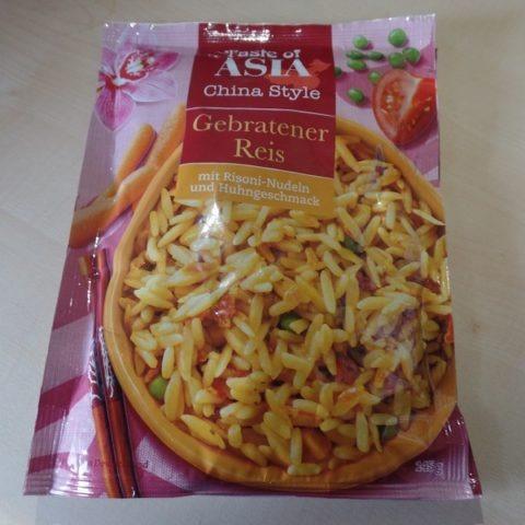 """#1310: Taste of Asia China Style """"Gebratener Reis mit Risoni-Nudeln und Huhngeschmack"""""""