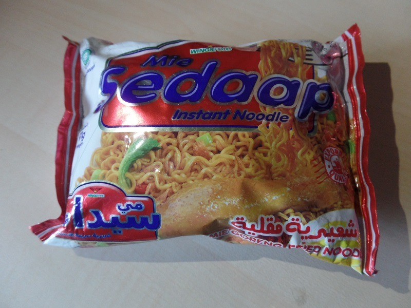 """#1322: Wingsfood Mie Sedaap Instant Noodle """"Mie Goreng Fried Noodles"""""""