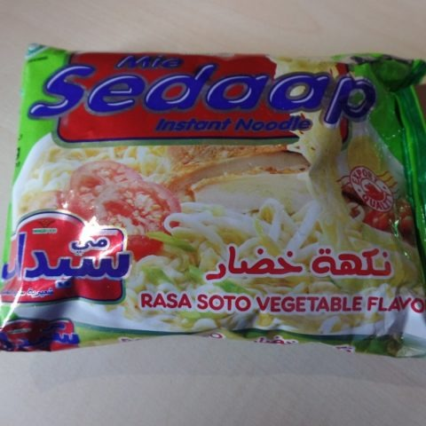 "#1326: Wingsfood Mie Sedaap Instant Noodle ""Rasa Soto Vegetable Flavour"""