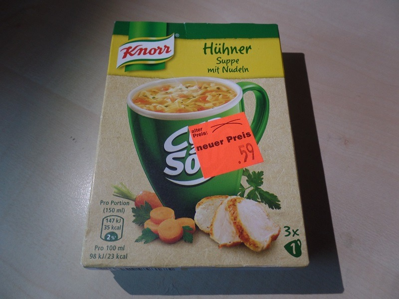 """#1333: Knorr Cup a Soup """"Hühner Suppe mit Nudeln"""""""