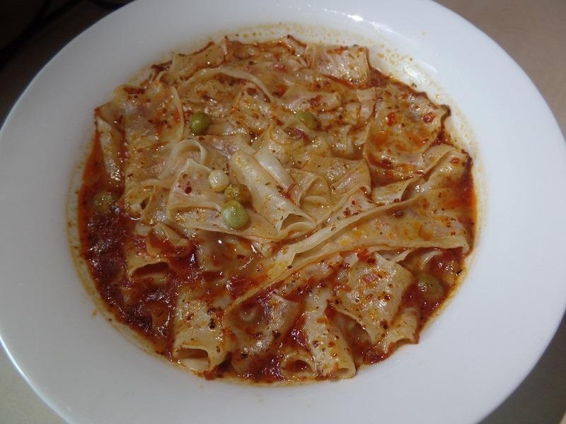 """#1338: Sichuan Baijia """"A-Kuang Sichuan Broad Noodle Sour Fish Flavour"""""""