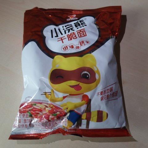 "#1342: Unif Little Bear ""Crispy Noodle Hot & Spicy"""