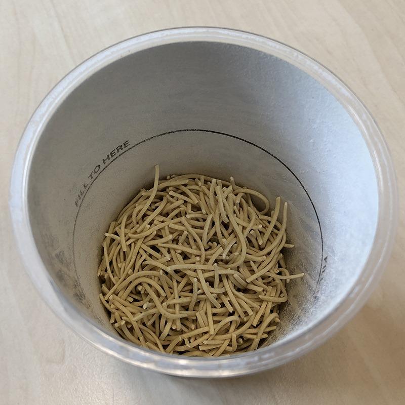 "#1341: Naked Noodle ""Egg Noodles Thai Sweet Chili"""