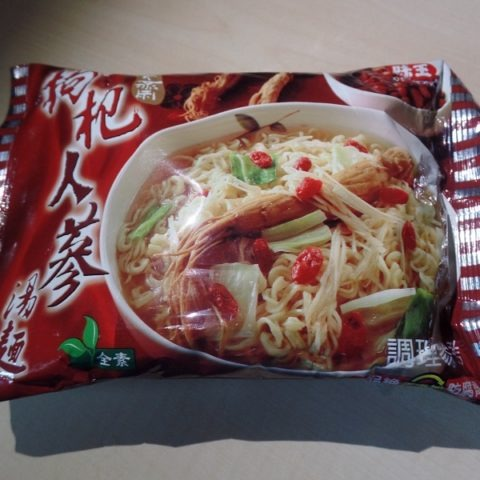 "#1360: Ve Wong Instant Noodles ""Chinese Herb - Ginseng Flavor"""