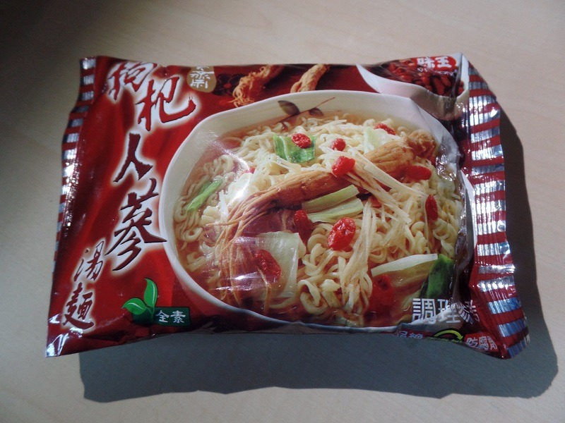 """#1360: Ve Wong Instant Noodles """"Chinese Herb - Ginseng Flavor"""""""
