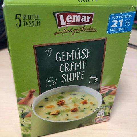 """#1368: Lemar """"Gemüse Creme Suppe"""""""