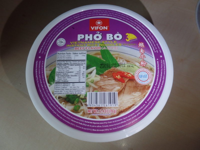 "#1366: Vifon ""Phở Bò"" Vietnamese Style Instant Rice Noodles Beef Flavor"