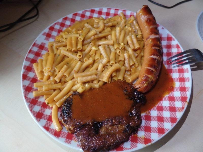 """#1380: American """"Chili, Cheese & Corn"""" (Nudelfertiggericht mit Chili, Schmelzkäsepulver und Mais)"""